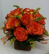 High and Magic Rose Bouquet