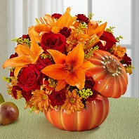 Bountiful Pumpkin Bouquet