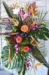 Stunning Tropical Tribute Spray