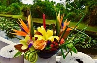 Autumn Tropical Bouquet