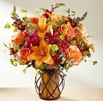 Warm Thoughts Bouquet