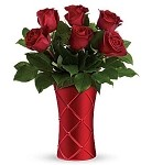 Crimson Luxury Bouquet (1/2 Red Roses)