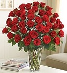 Fifty Red Roses of Romance Bouquet