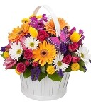 Bright and Beautiful Basket